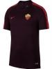 As Roma Nike Maglia Allenamento Training Breathe Squad Top Amaranto 2018 19
