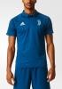 Juventus Adidas Climalite Polo Maglia Shirt Uomo 2017 18 Blu