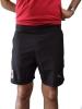 Ac Milan Puma Pantaloncini Shorts 2018 19 Woven Nero tasche con zip