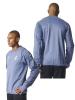 UEFA Real Madrid Adidas Felpa Allenamento Training Sweatshirt Azzurro 2016 17