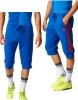 Manchester United Adidas Pantaloncini Shorts 3/4 pants Blu 2017 Uomo