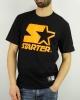 T-Shirt Leisure STARTER Cotton Man BLACK Orange