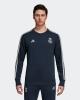 Real Madrid Adidas Sweat top Felpa Cotone Tuta Blu Uomo 2018 19