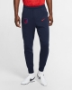 Pants ATLETICO MADRID Nike Fleece Sweat Cuff Cotton Man 2020 21 Blue Pockets with zip