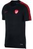 Training Trikot Shirt Top Türkei WM Russland 2018 Breathe Squad Man kurzarm Schwarz