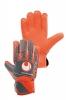Uhlsport Guanti Portiere grigio Arancione AERORED STARTER SOFT Uomo