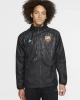 Rain wind jacket FC BARCELONA Nike All Weather Fan Men\'s Carbon 2019 20