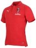 Polo-Shirt Ac Milan Puma CASUAL Performance Red kurzen Ärmeln Baumwolle 2018 19 man
