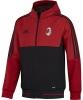 Ac Milan Adidas Giacca rappresentanza Jacket Rosso Presentation 2017 18
