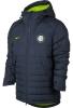 Inter fc Nike Bomber Piumino Giubbotto 2017 18 winter padded Cappuccio Blu