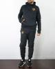 Sportswear-Anzug AS Roma Offizielle Nike Sportswear-Version 2020 2021 Black Man