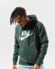 Nike Sportswear Club Fleece Cotton man hoodie with pockets Green 337