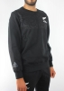All Blacks New Zealand Adidas Felpa sweatshirt Nero Crew maori 2016 Uomo