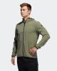 Wind rain running jacket Adidas CITY BASE with Green hood