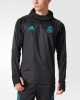 Real Madrid Adidas Formotion Felpa Allenamento WARM Top Sweatshirt Nero 2017 18