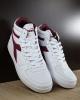 Diadora Scarpe Sportive Sneakers Sportswear Bianco Viola Playground High Mid