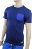 SF Tee Chelsea Fc Adidas T-shirt tempo libero Uomo Blu Cotone 2014 15