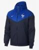 Sport wind rain jacket kway France FFF Nike Sportswear Windrunner World Cup Russia 2018 Man Blue Light Blue Original