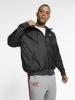 Nike Bomber Piumino Giubbino Sportswear Windrunner Nero