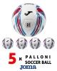 Joma HALLEY HYBRID Pallone Calcio calcetto Box 5 palloni termosaldato