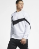 Sweatshirt Top Nike SPORTSWEAR SWOOSH Crew Men\'s Cotton Original White