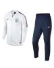 Manchester City Nike Tuta Allenamento Training 2018 Dry Squad knit Bianco