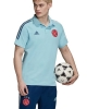 Polo AJAX adidas AEROREADY Cotton 2020 21 Light blue for men