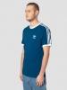 T-Shirt Freizeit adidas ORIGINALS TREFOIL 3 STRIPES Baumwollblau Mann kurze Ärmel