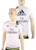 Fly Emirates Real Madrid Adidas Maglia Allenamento Training Bianco 2015 16 Uomo