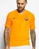 Training Jersey Shirt AS Roma Nike Breathe Squad Top 2019 20 Yellow Original Man