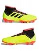 Adidas Scarpe Calcio Football Predator 18.2 FG Giallo con calzino