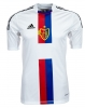 Jersey Shirt Match FC Basel Away Original Adidas Mens 2013 14 Formotion Player Issue White s/s Sleeveless Court