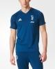 Juventus Adidas Maglia Allenamento Training Blu Uomo 2017 18