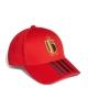 Hat Cap Belgium Adidas 3-Stripes Unisex Euro 2021 Red Original
