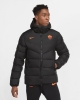 Padded Bomber Jacket AS ROMA Nike Down Fill 2020 21 Man Black