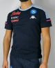 SSC Napoli Kappa AYBA 4 T-shirt Maglia maglietta UOMO Blu Cotone 2020 21