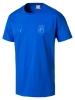 Italia FIGC Puma Maglia maglietta T-Shirt tee tempo libero Azzurro 2018 Uomo