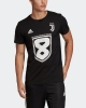 Juventus Adidas Maglia maglietta T-shirt Celebrativa 8 scudetti 2019 Uomo Nero