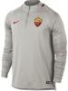As Roma Nike Felpa Allenamento Training Sweatshirt Grigio 2018 Mezza zip
