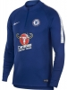 Trainings-Sweatshirt Chelsea Nike Dry Squad Drill Top Männer 2018 19 Blau Original
