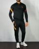 Training Tracksuit Galatasaray Nike Drill Top Half zip Man 2020 2021 Black