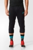 Shorts 3/4 Three Quarter Pants Real Madrid Original adidas Training Man 2017 18 black Adizero