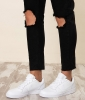 Nike Scarpe Sportive Sneakers Sportswear Bianco Ebernon low lifestyle Uomo