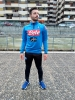 Training Tracksuit SSC naples kappa ALDEBUO 2 2018 19 Half zip man Official Royal