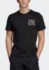 T-Shirt Freizeit REAL MADRID Adidas Street Graphic kurzen Ärmeln Baumwolle 2019