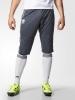 Juventus Adidas Pantaloncini Shorts 3/4 Grigio senza tasche 2016 17 Uomo