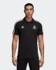 Real Madrid Adidas 3 Stripes Polo Maglia Shirt Cotone Uomo Nero 2018 19 Cotone