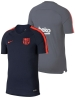 Trainingsshirt Barcelona Nike Breathe Squad Top Mann 2018 Navy Original