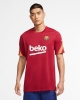 Training Jersey FC BARCELONA Nike Breathe Strike Top 2020 21 Red Original Man