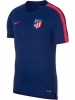 Training Jersey Shirt Nike Atletico Madrid Breathe Squad Top 2018 19 Blue Men\'s Original